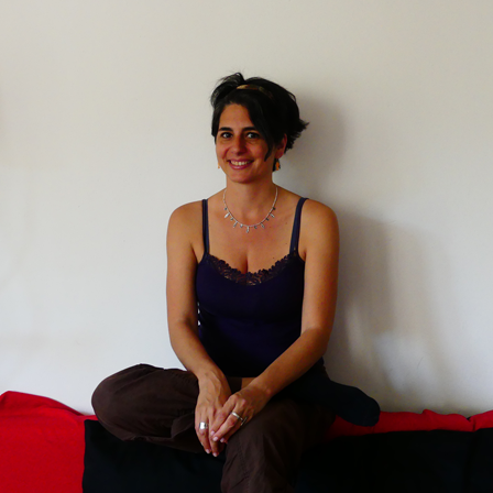 Pinelopi Sioni co-founder of English Yoga Berlin